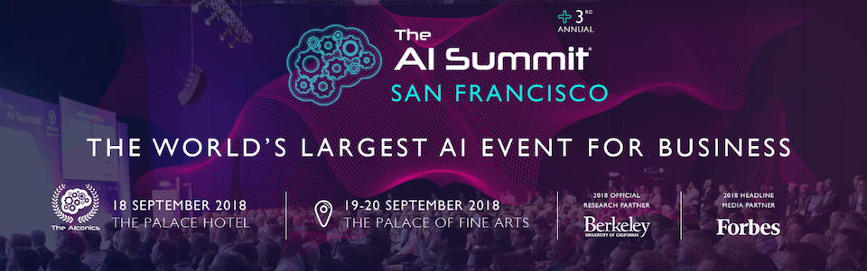 AI Summit poster graphic